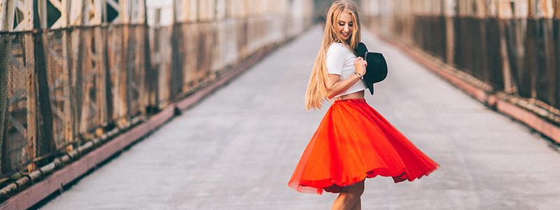ストレートタイプに似合うスカート