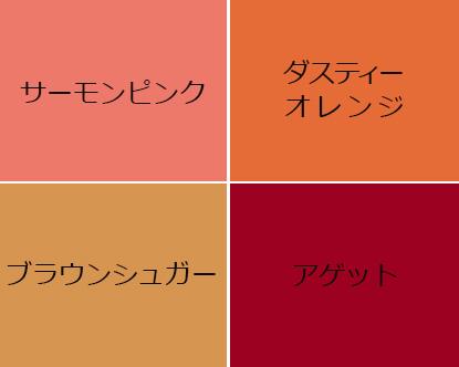 イエベオータムタイプに似合うチークの色
