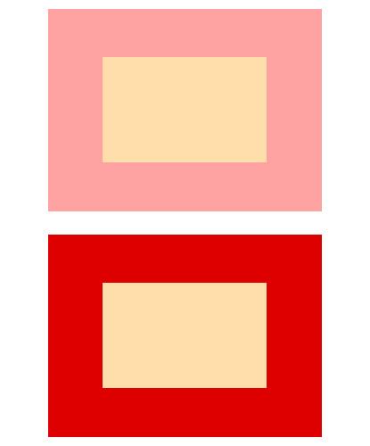 パーソナルカラーと調和する色の比較