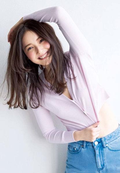 佐々木希-骨格ウェーブタイプの女優