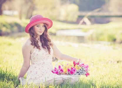 イエベ春のメイクイメージ