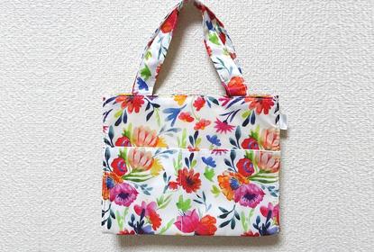 ヒフミドトライアルセットのプレゼント「花柄トートバッグ」