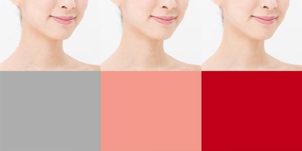 パーソナルカラー診断「彩度の見分け方のポイント」